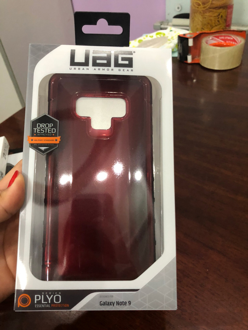 Op lung Samsung Note 9 UAG PLYO Series 01 BENGOVN