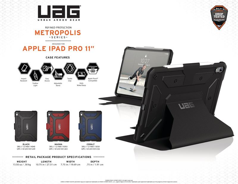 Bao da Ipad Pro 11 Inch UAG Metropolish Series 01 bengovn1
