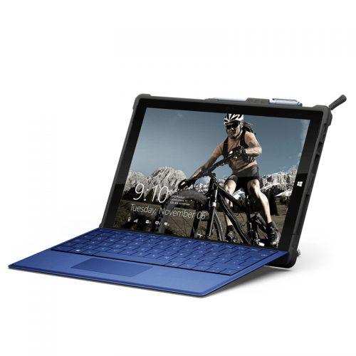 Op lung Microsoft Surface Pro 6 5Th Gen UAG Metropolis Series Cobalt 05 bengovn
