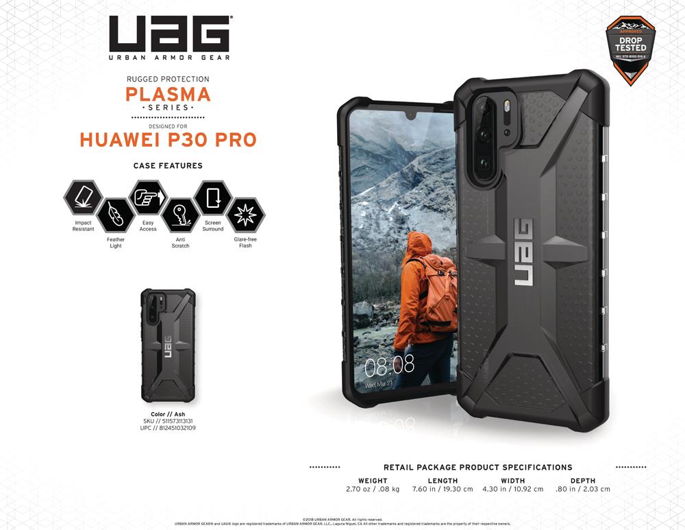 Op lung Huawei p30 pro UAG plasma info uagvietnam
