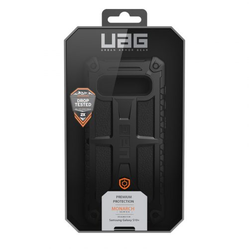 Op lung Samsung Galaxy S10 Plus UAG Monarch Series Black 07 bengovn