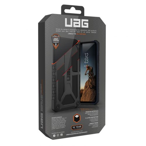 Op lung Samsung Galaxy S10 Plus UAG Monarch Series Black 08 bengovn