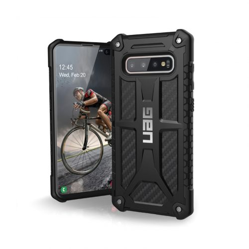 Op lung Samsung Galaxy S10 Plus UAG Monarch Series Carbon Fiber 01 bengovn