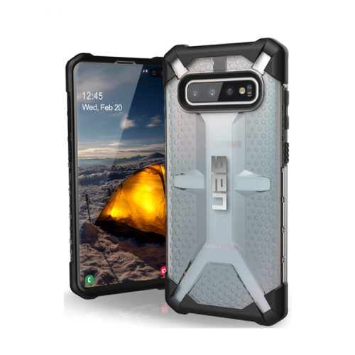 Op lung Samsung Galaxy S10 Plus UAG Plasma Series TIKI Ice 05 bengovn