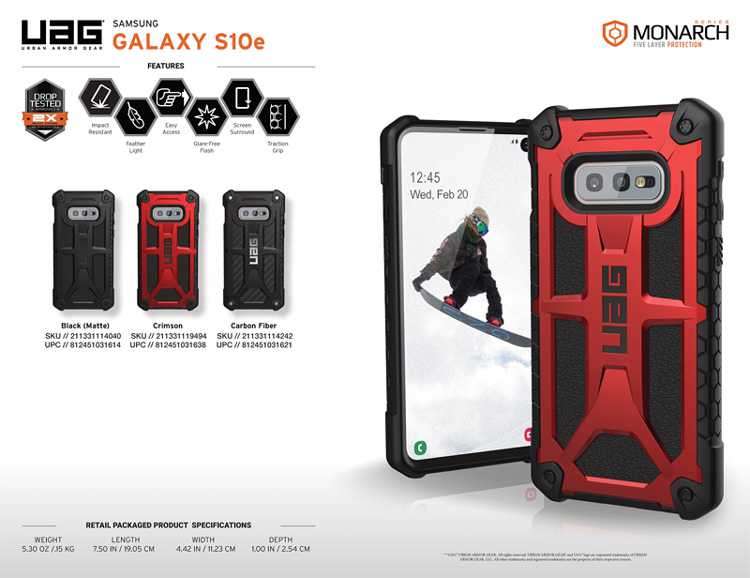 Op lung Samsung Galaxy S10e UAG Monarch Series 05 bengovn