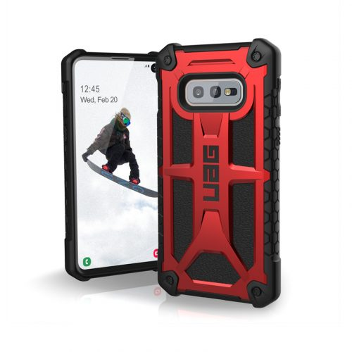 Op lung Samsung Galaxy S10e UAG Monarch Series Crimson 01 bengovn