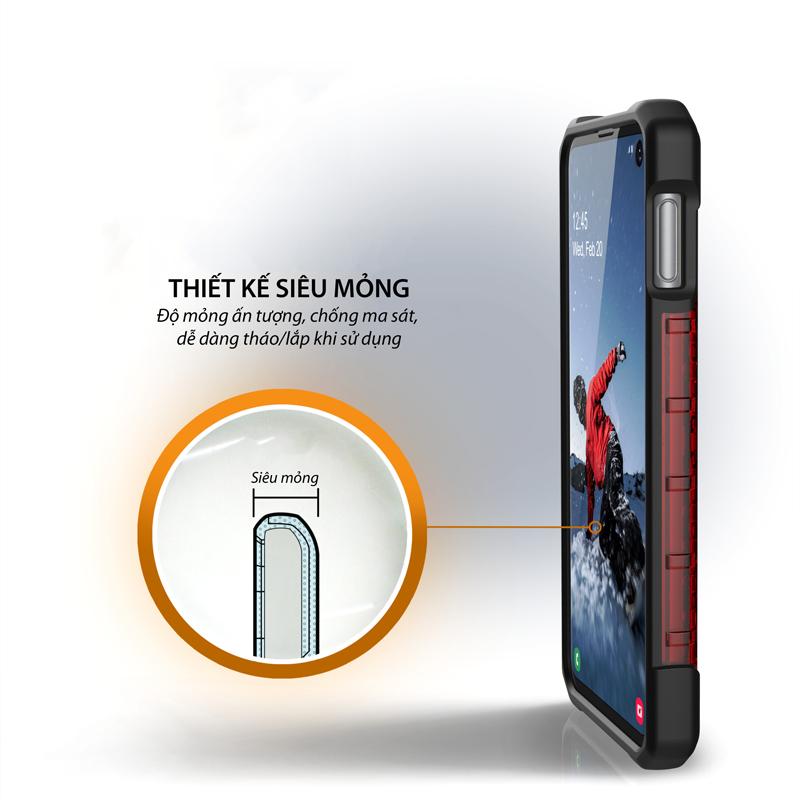 Op lung Samsung Galaxy S10e UAG Plasma Series TIKI 03 bengovn
