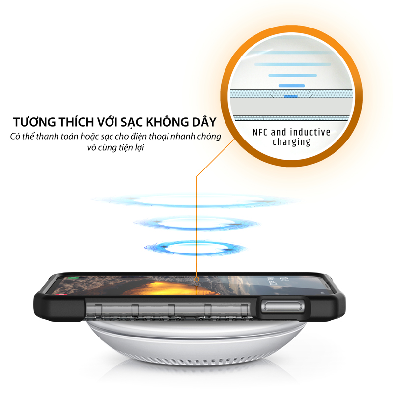 Op lung Samsung Galaxy S10e UAG Plasma Series TIKI 04 bengovn