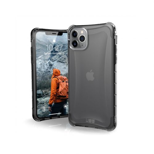 Op lung iPhone 11 Pro Max UAG Plyo Series Ash 01 bengovn