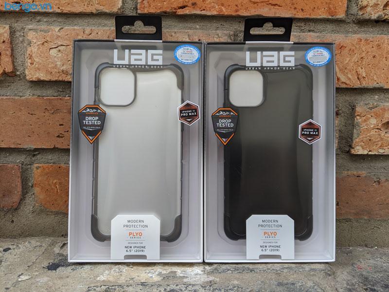 Op lung iPhone 11 Pro Max UAG Plyo Series Ice 12 bengovn