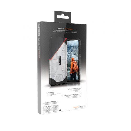 Op lung iPhone 11 Pro Max UAG Plasma Series Ice 08 bengovn