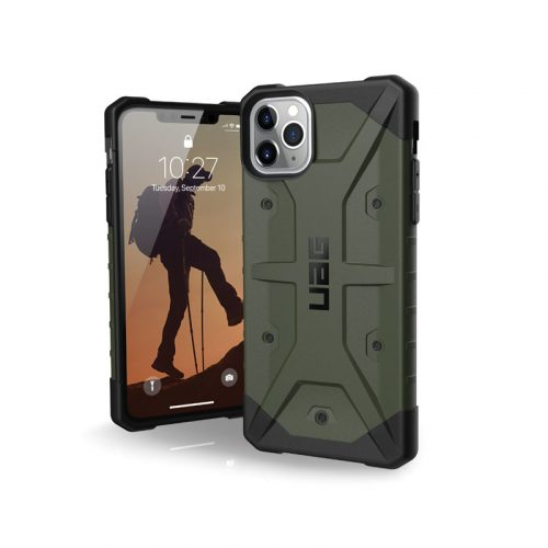Op lung iPhone 11 Pro Max UAG Pathfinder Series Olive Drab 01 bengovn