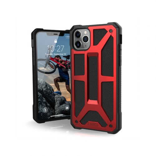 Op lung iPhone 11 Pro UAG Monarch Series Crimson 01 bengovn
