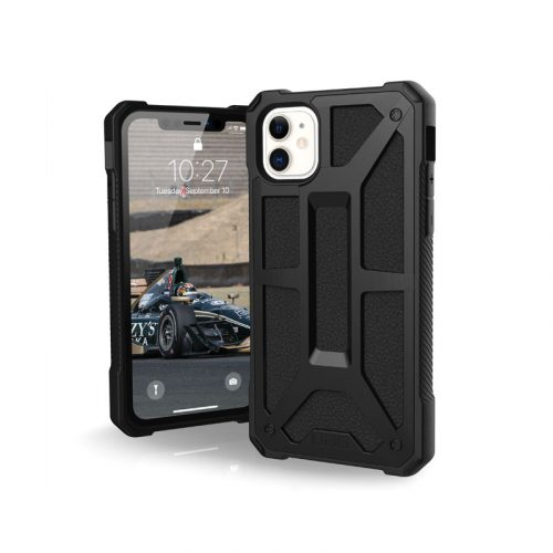 Op lung iPhone 11 UAG Monarch Series Black 01 bengovn