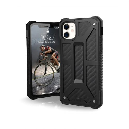 Op lung iPhone 11 UAG Monarch Series CARBON FIBER 01 bengovn