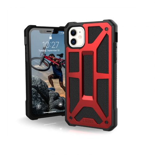 Op lung iPhone 11 UAG Monarch Series CRIMSON 01 bengovn