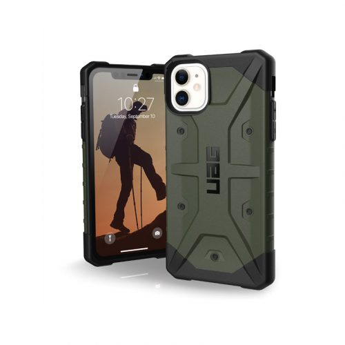 Op lung iPhone 11 UAG Pathfinder Series OLIVE DRAB 01 bengovn