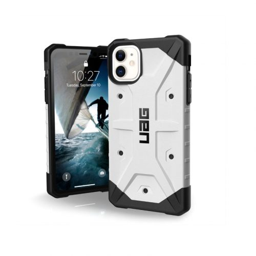 Op lung iPhone 11 UAG Pathfinder Series WHITE 01 bengovn