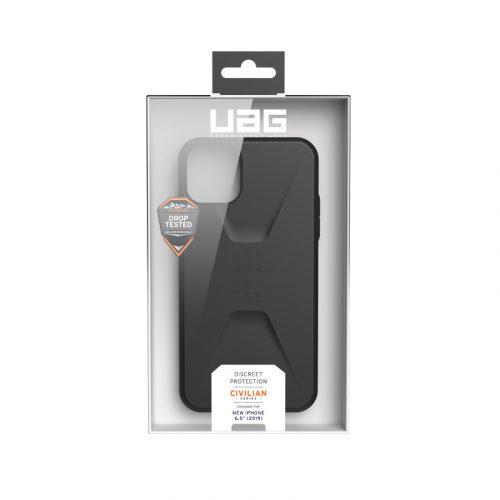 Op lung iPhone 11 Pro Max UAG Civilian Series Black 07 bengovn