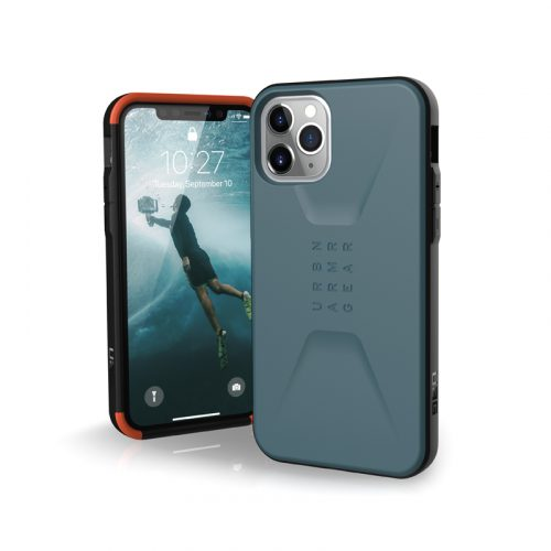 Op lung iPhone 11 Pro Max UAG Civilian Series Slate 01 bengovn