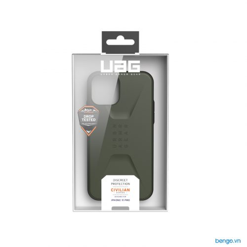 Op lung iPhone 11 Pro UAG Civilian Series Olive Drab 07 bengovn