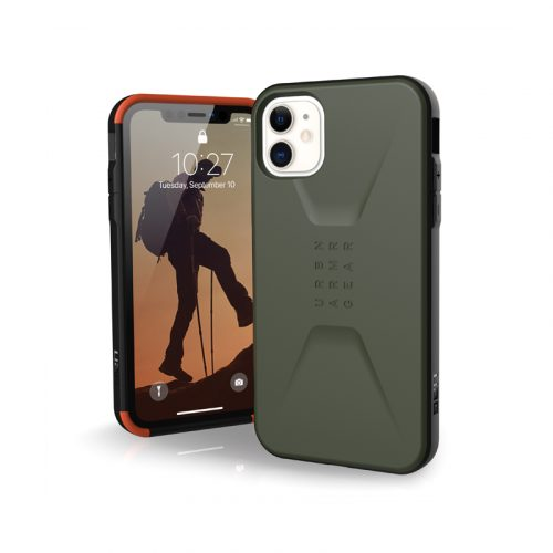 Op lung iPhone 11 UAG Civilian Series Olive Drab 01 bengovn