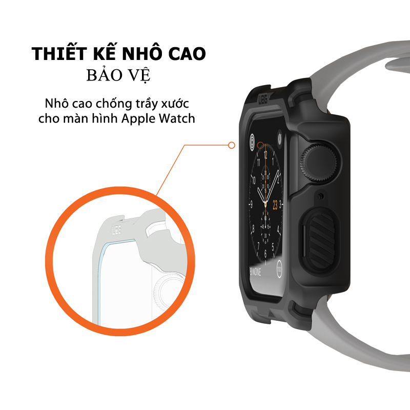 Op Apple Watch Series 4 5 UAG WATCH CASE 44mm 17 bengovn
