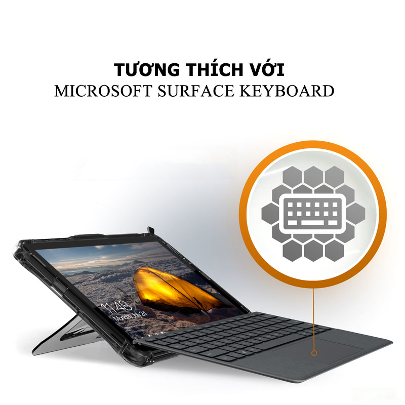Op lung Microsoft Surface Go UAG Plyo 11 bengovn