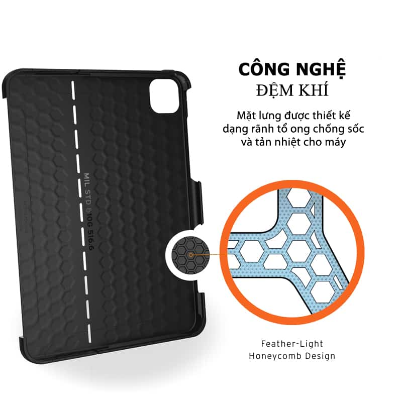 Op lung iPad Pro 11 2nd Gen 2020 UAG Scout Series 15 bengovn