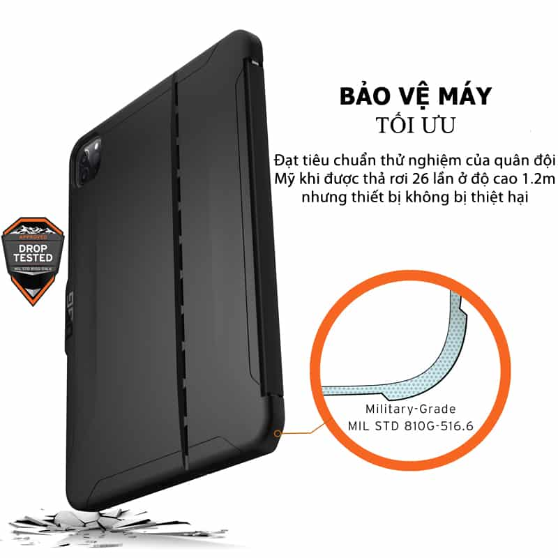 Op lung iPad Pro 11 2nd Gen 2020 UAG Scout Series 17 bengovn