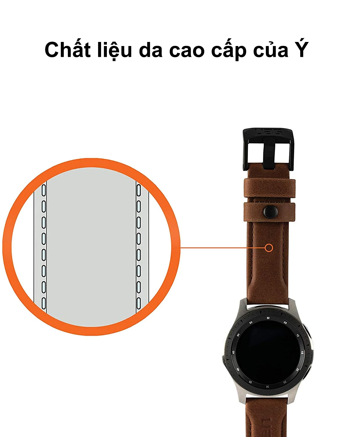 day deo samsung galaxy watch 42mm uag leather series bengovn