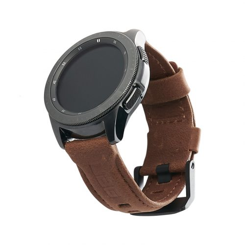 day deo samsung galaxy watch 42mm uag leather series leather brown bengovn