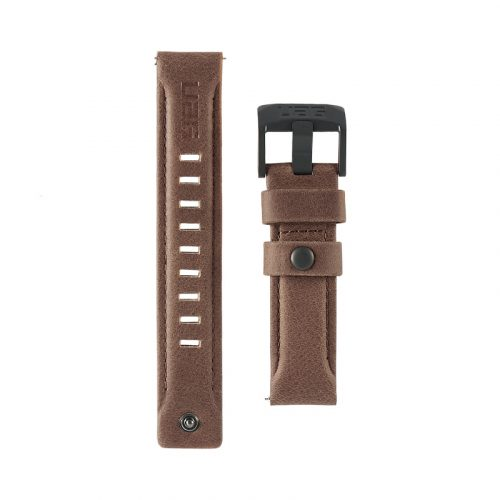 day deo samsung galaxy watch 42mm uag leather series leather brown4 bengovn