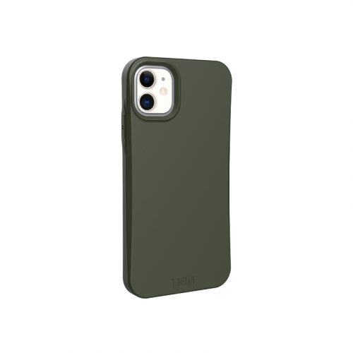 op lung iphone 11 uag biodegradable outback olive2 bengovn
