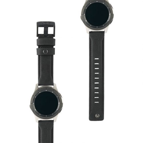 day deo samsung galaxy watch 46mm uag leather series black3 bengovn