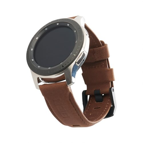 day deo samsung galaxy watch 46mm uag leather series brown leather bengovn