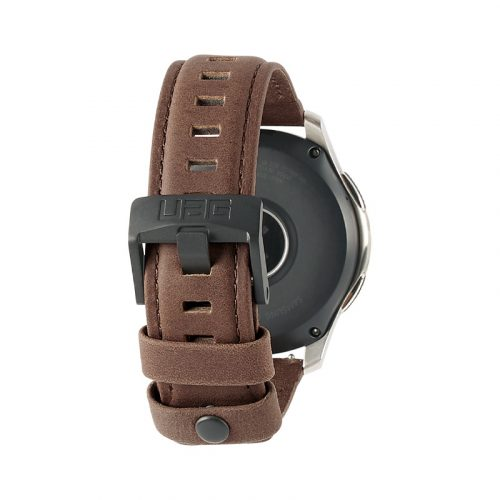 day deo samsung galaxy watch 46mm uag leather series brown leather1 bengovn