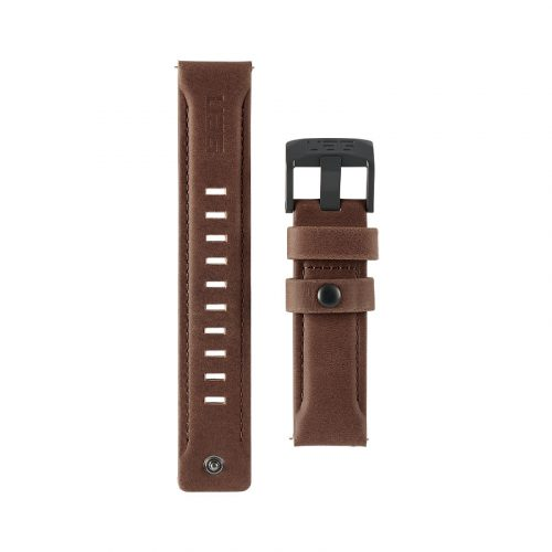 day deo samsung galaxy watch 46mm uag leather series brown leather2 bengovn