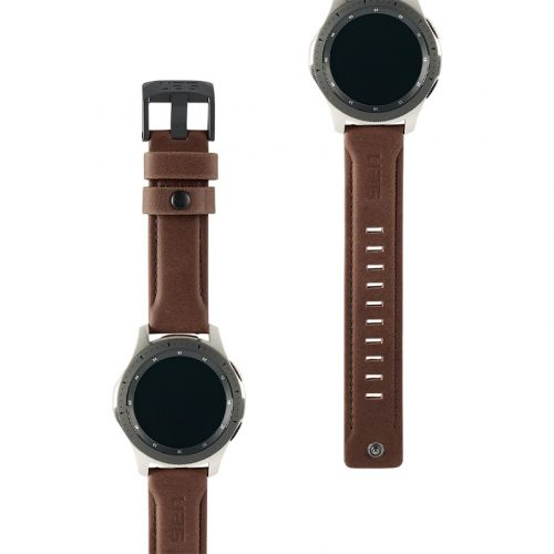 day deo samsung galaxy watch 46mm uag leather series brown leather4 bengovn