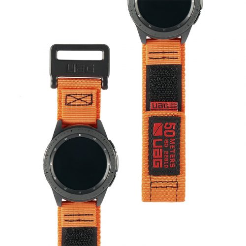 day deo samsung galaxy watch 42mm uag active series orange3 bengovn1