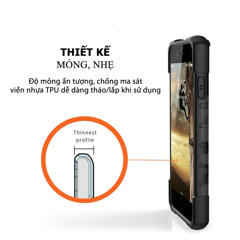 Op lung iPhone SE 2020 UAG Pathfinder SE Camo 09 bengovn tiki