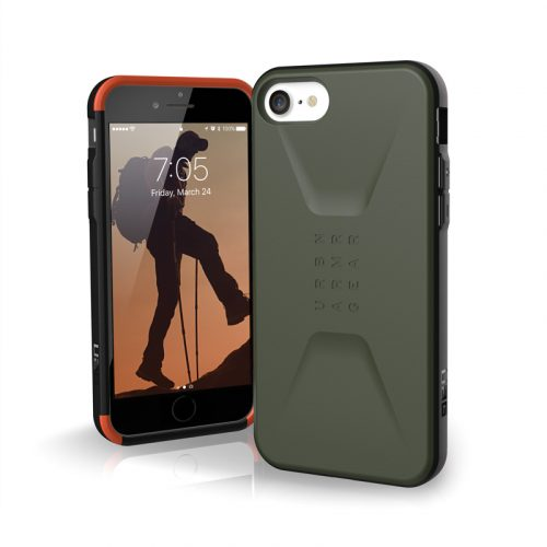 op lung iphone se 2020 uag civilian series olive bengovn
