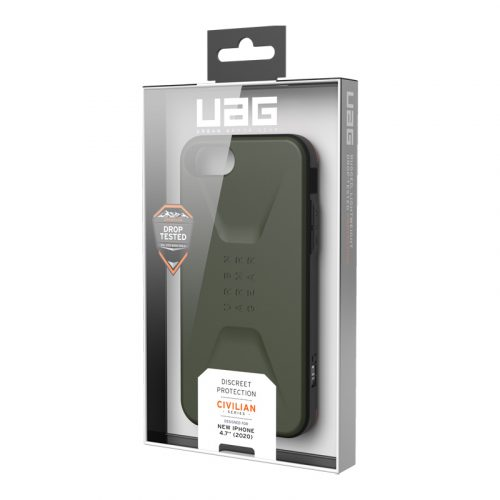 op lung iphone se 2020 uag civilian series olive9 bengovn
