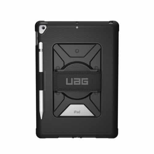 Op lung iPad 10 2 7th Gen UAG Metropolis With Handstrap 02 bengovn