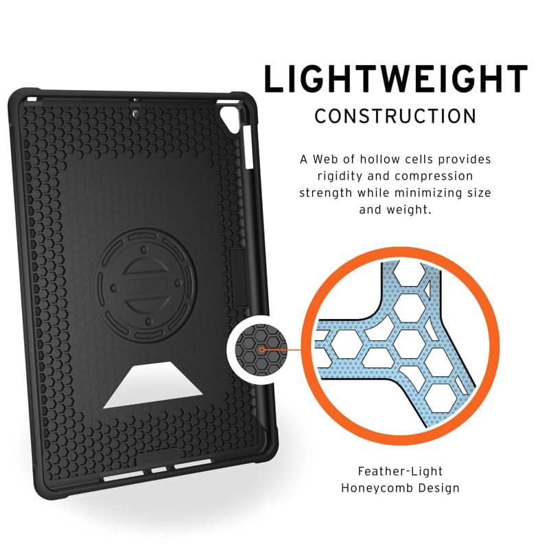 Op lung iPad 10 2 7th Gen UAG Metropolis With Handstrap 09 bengovn