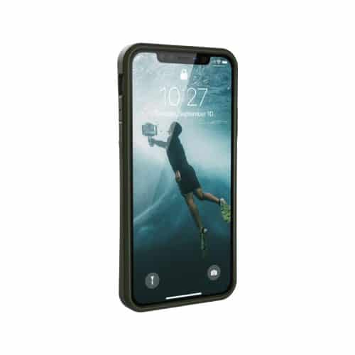 op lung iphone 11 pro max uag biodegradable outblack olive3 bengovn