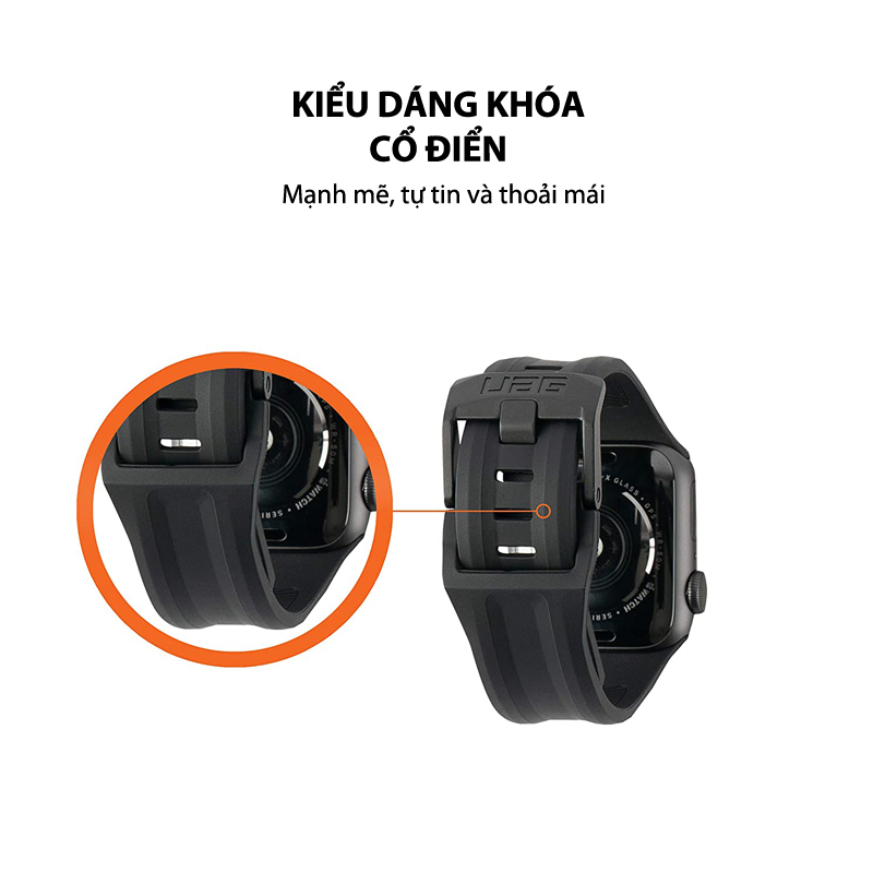 Day deo Apple Watch 40mm 38mm UAG Scout Silicone 18 bengovn
