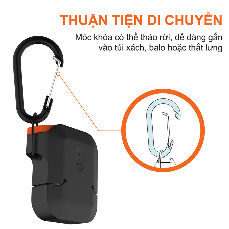 vo op airpods uag silicone rugged weatherproof bengovn
