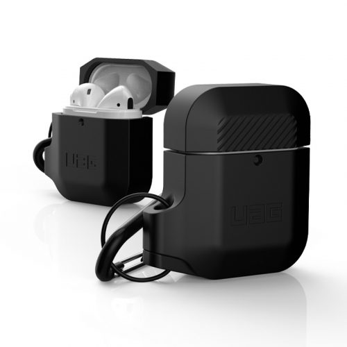 vo op airpods uag silicone rugged weatherproof black5 bengovn