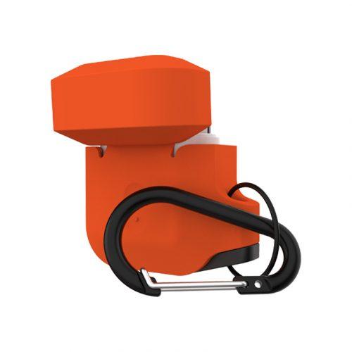 vo op airpods uag silicone rugged weatherproof orange3 bengovn